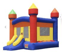 New Commercial Castle Bounce House with Blower