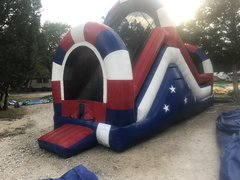 Backyard Slide 15' Dry 1B