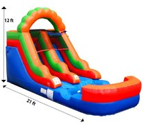 Slide Kids WET or DRY 12' 1B  Ages 12 and under