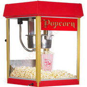 Popcorn machine w/70 servings