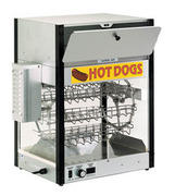 Hot dog rotisserie-only