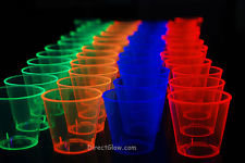Neon 100ct Shot Glasses
