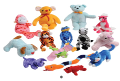 Stuffed Animal Assortment-Small 24pcs SA77