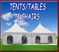 Tents/Tables & Chairs