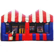 Inflatable Carnival Tent With 4 Games