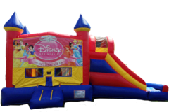 DISNEY PRINCESS Castle Combo Bounce 1
