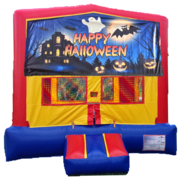 HAUNTED HOUSE HALLOWEEN BOUNCE HOUSE