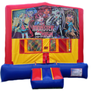 Monster High Purple & Pink Bounce House