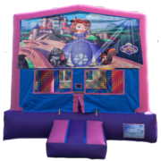 SOFIA THE FIRST Purple & Pink Bounce House