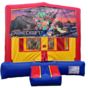 MINECRAFT Bounce House 1