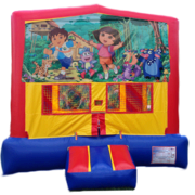 DORA & DIEGO Bounce House 1