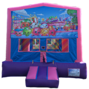 SHOPKINS Purple & Pink Bounce House