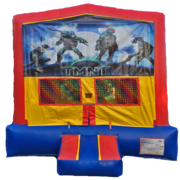 NINJA TURTLES Bounce House 1