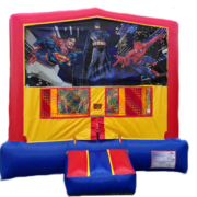 SUPERMAN/BATMAN/SPIDERMAN Bounce House