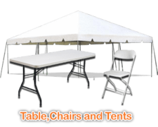 Tents / Tables / Chairs