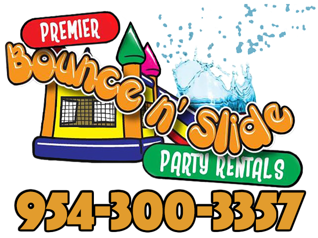 Premier Bounce N Slide Party Rentals / Extremely Fun Bounce House and Waterslide Rentals / The Premier Event Group