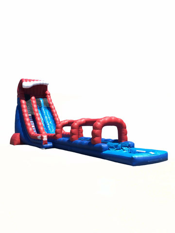 Old Glory Dual Lane Waterslide