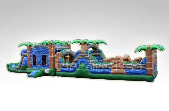 Blue Crush Obstacle Course Wet