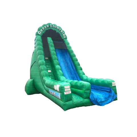 Green Lightning Dry Slide