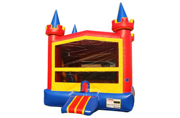 Lucky Multicolor Castle Bounce House