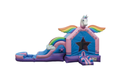 Unicorn Combo Waterslide