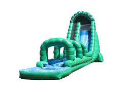 Green Lightning Waterslide
