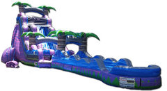 Purple Crush Waterslide with Slip N Slide