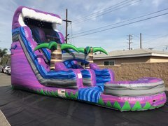 Purple Tsunami Waterslide