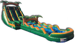 Tropical Oasis Waterslide with Slip N Slide