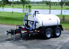 Water Pump Trailer - 500 Gallon