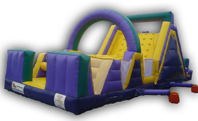 Purple Monster Obstacle Course