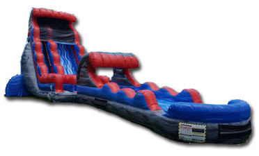 Rocky Marble Waterslide With Slip N Slide