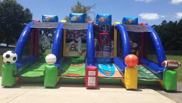 4 in 1 Sports Play Inflatable