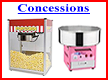 Popcorn, Snow Cone, Cotton Candy Etc