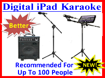 Digital iPad Karaoke Rentals