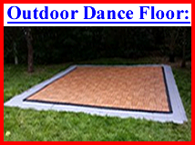 Outdoor Dance Floor With  Sub Floor