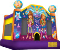 It's a Girl Thing Bounce House Rental Priority 1 Party Rental