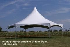 *30' Hexagon High Peak Tent