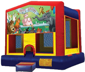 Happy Birthday Velcro Bounce House