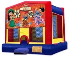 Lilo and Stitch Velcro Bounce House