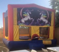 Unicorn Velcro Bounce House