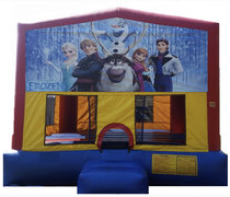 Frozen Velcro Bounce House