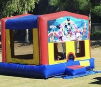 Mickey Mouse Club House Velcro Bounce House