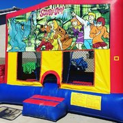 Scooby Doo Velcro Bounce House