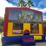 Teenage Ninja Mutant Ninja Turtles Velcro Bounce House