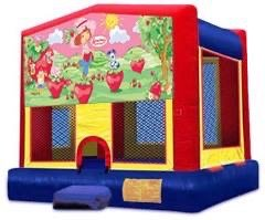 Strawberry Shortcake Velcro Bounce House