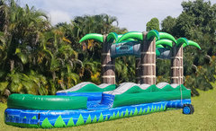 22FT Tropical Slip and Slide