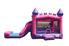 Pink Combo 4 in 1 Bouncer Dry