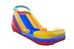Large 18 Ft Rainbow Dry Slide
