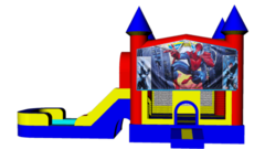 Spiderman Combo 4 in 1 Dry Bouncer